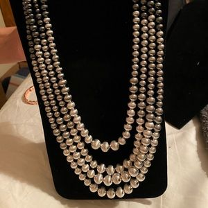 BOGO free- layered set of pearl type necklace
